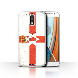 STUFF4 Case/Cover for Motorola Moto G4 2016 / Northern Ireland Design / Flags Collection Mobile phones