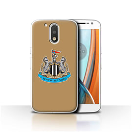 Newcastle United FC Case/Cover for Motorola Moto G4 2016/Colour/Gold Design/NUFC Football Crest Mobile phones