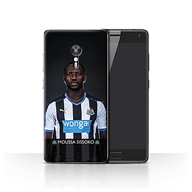 Newcastle United FC Case/Cover for Lenovo ZUK Z2 Pro/Sissoko Design/NUFC Football Player 15/16 Mobile phones