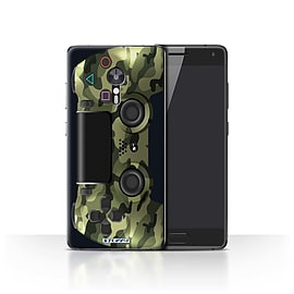 STUFF4 Case/Cover for Lenovo ZUK Z2 Pro / Green Camouflage Design / Playstation PS4 Collection Mobile phones