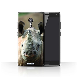 STUFF4 Case/Cover for Lenovo ZUK Z2 Pro / Rhino Design / Wildlife Animals Collection Mobile phones