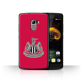 Official Newcastle United FC Case/Cover for Lenovo Vibe K4 Note/Mono/Red Design/NUFC Football Crest Mobile phones