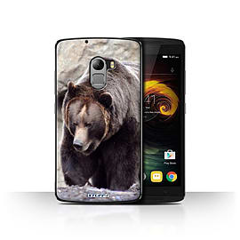 STUFF4 Case/Cover for Lenovo Vibe K4 Note / Bear Design / Wildlife Animals Collection Mobile phones