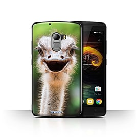 STUFF4 Case/Cover for Lenovo Vibe K4 Note / Ostrich/Emu Design / Wildlife Animals Collection Mobile phones