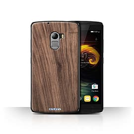STUFF4 Case/Cover for Lenovo Vibe K4 Note / Walnut Design / Wood Grain Effect/Pattern Collection Mobile phones