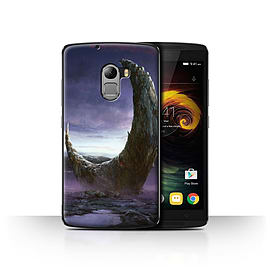 Official Chris Cold Case/Cover for Lenovo Vibe K4 Note/Broken Moon Design/Alien World Cosmos Mobile phones