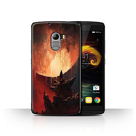 Official Chris Cold Case/Cover for Lenovo Vibe K4 Note/Melting Sun Design/Alien World Cosmos Mobile phones