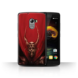 Official Chris Cold Case/Cover for Lenovo Vibe K4 Note / Red Duke Design / Dark Art Demon Collection Mobile phones