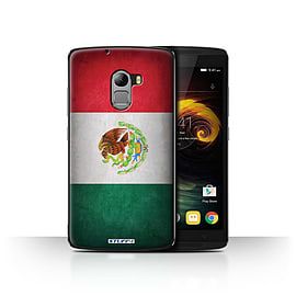 STUFF4 Case/Cover for Lenovo Vibe K4 Note / Mexico/Mexican Design / Flags Collection Mobile phones