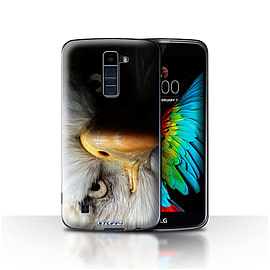STUFF4 Case/Cover for LG K8/K350N/Phoenix 2/Eagle/Bird of Prey Design/Wildlife Animals Mobile phones