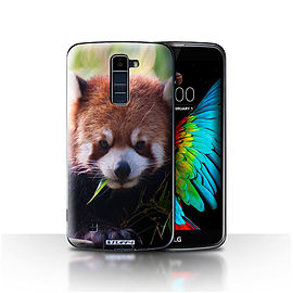STUFF4 Case/Cover for LG K8/K350N/Phoenix 2 / Racoon Design / Wildlife Animals Collection Mobile phones