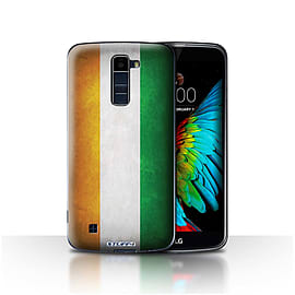 STUFF4 Case/Cover for LG K8/K350N/Phoenix 2 / Ivory Coast Design / Flags Collection Mobile phones
