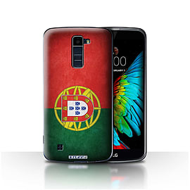 STUFF4 Case/Cover for LG K8/K350N/Phoenix 2 / Portugal/Portuguese Design / Flags Collection Mobile phones