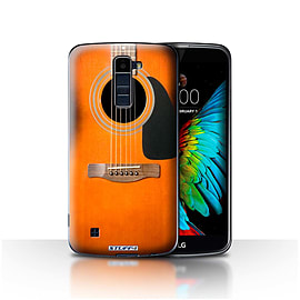 STUFF4 Case/Cover for LG K8/K350N/Phoenix 2 / Sunburst Acoustic Design / Guitar Collection Mobile phones