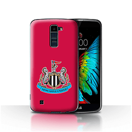Newcastle United FC Case/Cover for LG K8/K350N/Phoenix 2/Colour/Red Design/NUFC Football Crest Mobile phones