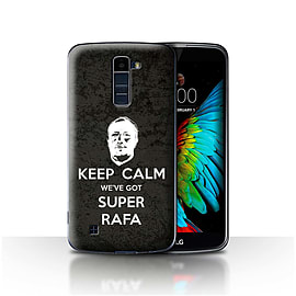 Official Newcastle United FC Case/Cover for LG K7 /X210/Keep Calm Design/NUFC Rafa Ben?tez Mobile phones