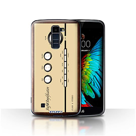 STUFF4 Case/Cover for LG K7 /X210 / Amp/Amplifier Design / Retro Tech Collection Mobile phones