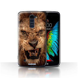 STUFF4 Case/Cover for LG K7 /X210 / Lion Design / Wildlife Animals Collection Mobile phones