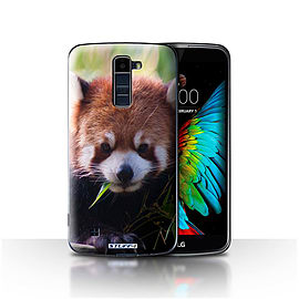 STUFF4 Case/Cover for LG K7 /X210 / Racoon Design / Wildlife Animals Collection Mobile phones