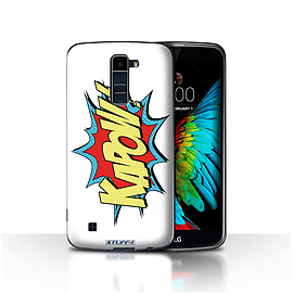 STUFF4 Case/Cover for LG K8/K350N/Phoenix 2 / Kapow! Design / Comics/Cartoon Words Collection Mobile phones