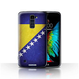 STUFF4 Case/Cover for LG K7 /X210 / Bosnia & Herzegovina Design / Flags Collection Mobile phones