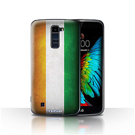 STUFF4 Case/Cover for LG K7 /X210 / Ivory Coast Design / Flags Collection Mobile phones
