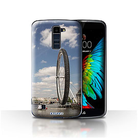 STUFF4 Case/Cover for LG K7 /X210 / London Eye Design / Imagine It Collection Mobile phones