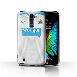 Official Newcastle United FC Case/Cover for LG K7 /X210/Footballer Design/NUFC Away Shirt/Kit 15/16 Mobile phones