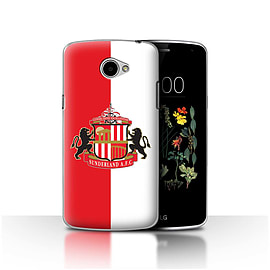 Official Sunderland AFC Case/Cover for LG K5/X220/Q6/Red/White Design/SAFC Football Club Crest Mobile phones