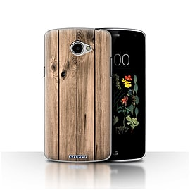STUFF4 Case/Cover for LG K5/X220/Q6 / Plank Design / Wood Grain Effect/Pattern Collection Mobile phones