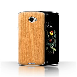 STUFF4 Case/Cover for LG K5/X220/Q6 / Pine Design / Wood Grain Effect/Pattern Collection Mobile phones