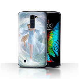 STUFF4 Case/Cover for LG K7 /X210 / Air Dress Design / Fantasy Angel Collection Mobile phones