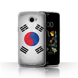STUFF4 Case/Cover for LG K5/X220/Q6 / Korea/Korean Design / Flags Collection Mobile phones