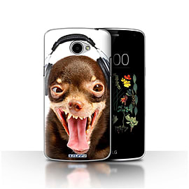STUFF4 Case/Cover for LG K5/X220/Q6 / Ridiculous Dog Design / Funny Animals Collection Mobile phones