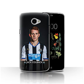 Official Newcastle United FC Case/Cover for LG K5/X220/Q6/Colback Design/NUFC Football Player 15/16 Mobile phones