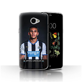 Newcastle United FC Case/Cover for LG K5/X220/Q6/Lascelles Design/NUFC Football Player 15/16 Mobile phones