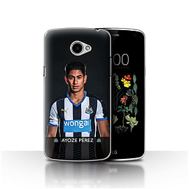 Official Newcastle United FC Case/Cover for LG K5/X220/Q6/Ayoze Design/NUFC Football Player 15/16 Mobile phones