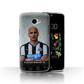 Official Newcastle United FC Case/Cover for LG K5/X220/Q6/Shelvey Design/NUFC Football Player 15/16 Mobile phones