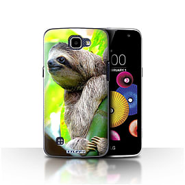 STUFF4 Case/Cover for LG K4/K120/K121/K130 / Sloth Design / Wildlife Animals Collection Mobile phones