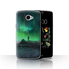 Official Chris Cold Case/Cover for LG K5/X220/Q6 / Aurora Design / Alien World Cosmos Collection Mobile phones
