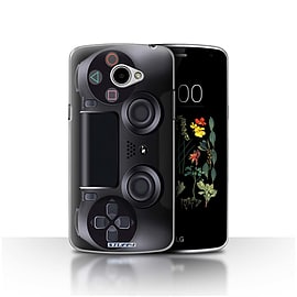 STUFF4 Case/Cover for LG K5/X220/Q6 / Playstation PS4 Design / Games Console Collection Mobile phones