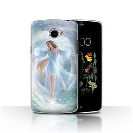 Official Elena Dudina Case/Cover for LG K5/X220/Q6 / Air Dress Design / Fantasy Angel Collection Mobile phones
