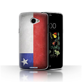 STUFF4 Case/Cover for LG K5/X220/Q6 / Chile/Chiliean Design / Flags Collection Mobile phones