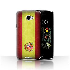 STUFF4 Case/Cover for LG K5/X220/Q6 / Spain/Spanish Design / Flags Collection Mobile phones