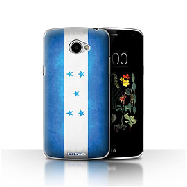 STUFF4 Case/Cover for LG K5/X220/Q6 / Honduras/Honduran Design / Flags Collection Mobile phones