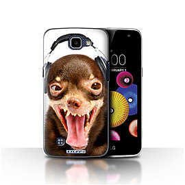 STUFF4 Case/Cover for LG K4/K120/K121/K130 / Ridiculous Dog Design / Funny Animals Collection Mobile phones