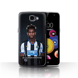 Newcastle United FC Case/Cover for LG K4/K120/K121/K130/Aarons Design/NUFC Football Player 15/16 Mobile phones