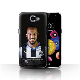 Newcastle United FC Case/Cover for LG K4/K120/K121/K130/Townsend Design/NUFC Football Player 15/16 Mobile phones