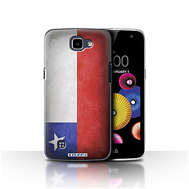 STUFF4 Case/Cover for LG K4/K120/K121/K130 / Chile/Chiliean Design / Flags Collection Mobile phones
