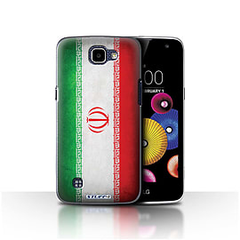 STUFF4 Case/Cover for LG K4/K120/K121/K130 / Iran/Iranian Design / Flags Collection Mobile phones